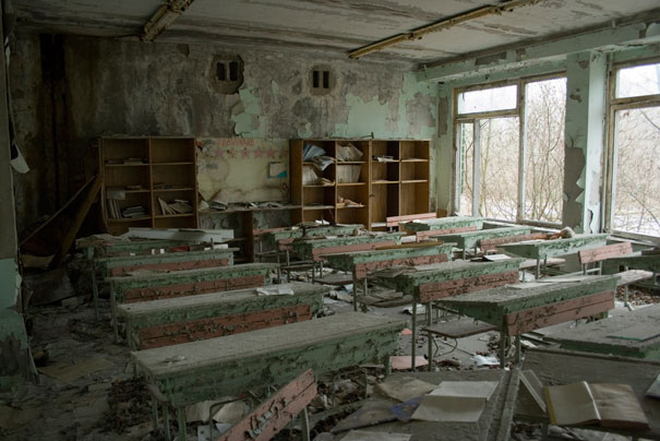 Current status in Chernobyl after the accident