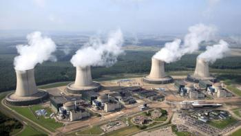 Cattenom Nuclear Power Plant, France