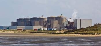 Nuclear power plant in Gravelines, France