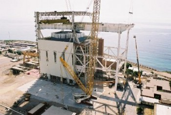 Dismantling of the building of the Vandellós nuclear power plant I