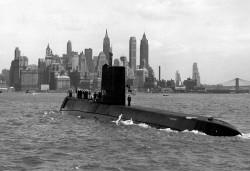 Nautilus is the first nuclear-powered submarine